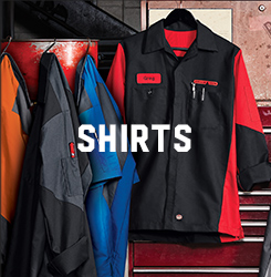 Automotive uniforms mechanic uniforms red kap for Red kap mechanic shirts
