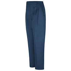 WOMEN'S TWILL PLEATED FRONT PANT