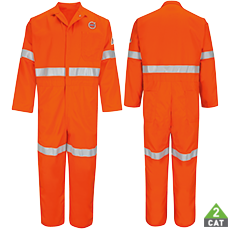 BULWARK® CLASSIC COVERALL WITH TRIM